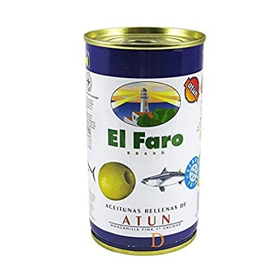 El Faro Tuna Stuffed Olives 130 g