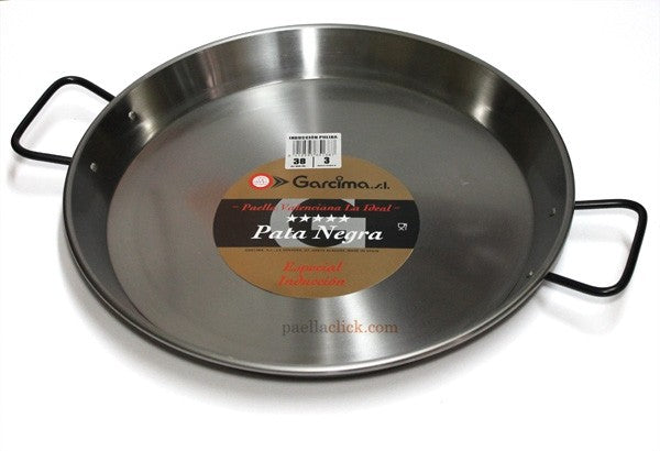 Steel Paella Pan Suitable For Induction (Various Sizes)
