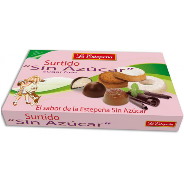 La Estepeña Assortment Box With Chocolates / No Added Sugar 285 g