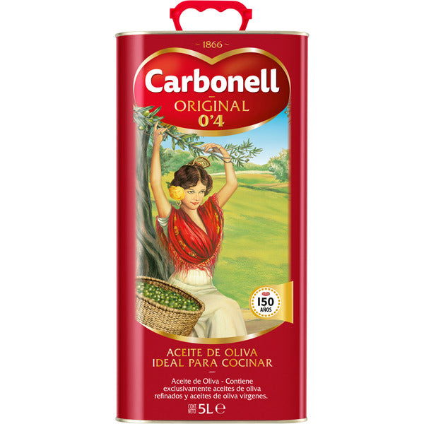Carbonell Pure Olive Oil 5 L