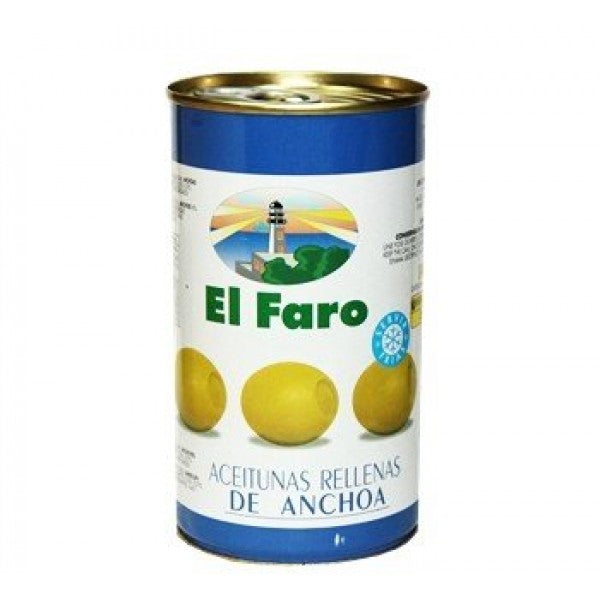 El Faro Anchovy Stuffed Olives 130 g