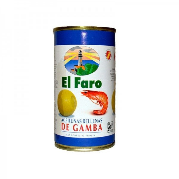 El Faro Shrimp Stuffed Olives 150 g