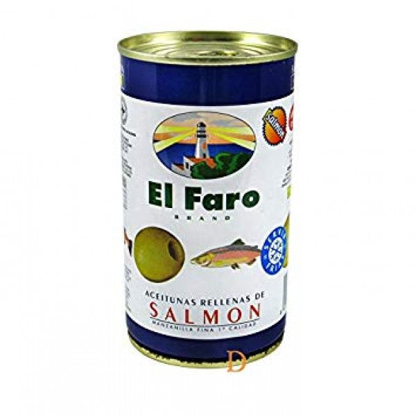 El Faro Salmon Stuffed Olives 150 g
