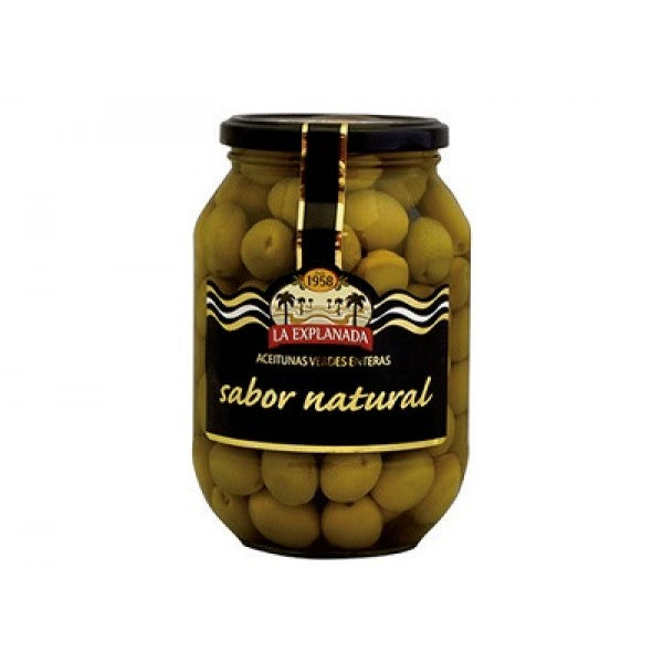 La Explanada Whole Green Olives 850 ml