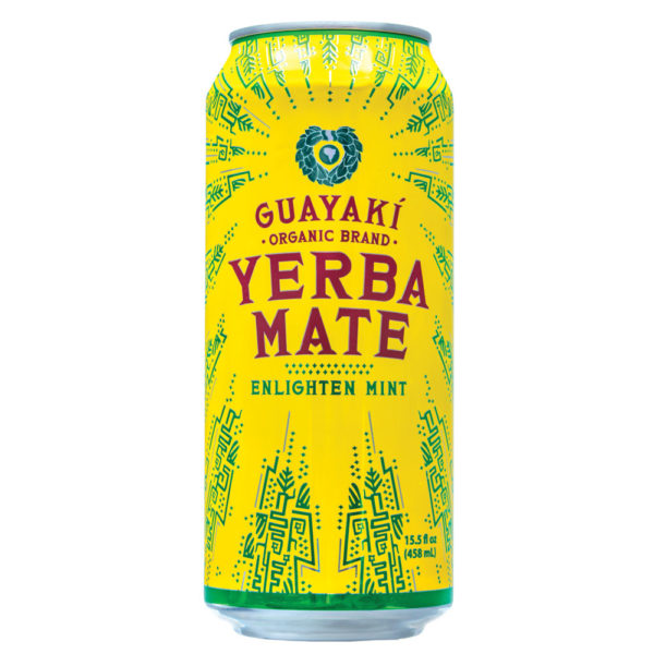 Guayakí Enlighten Mint Yerba Mate Non-Sparkling Beverage