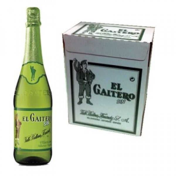 El Gaitero 0.5% Sparkling Apple Cider Box 6 x 700 ml