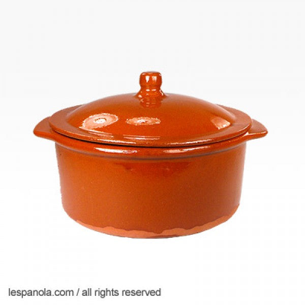 Terracotta Cooking Pot With Lid 25 cm x 11 cm