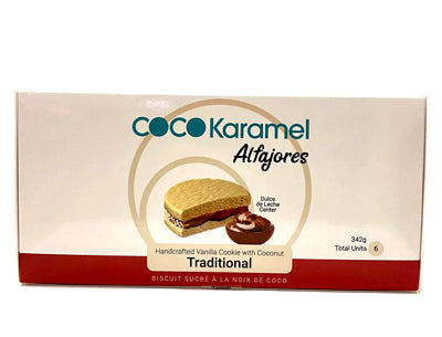 Coco Karamel Traditional Gourmet Filled Alfajor 6 units