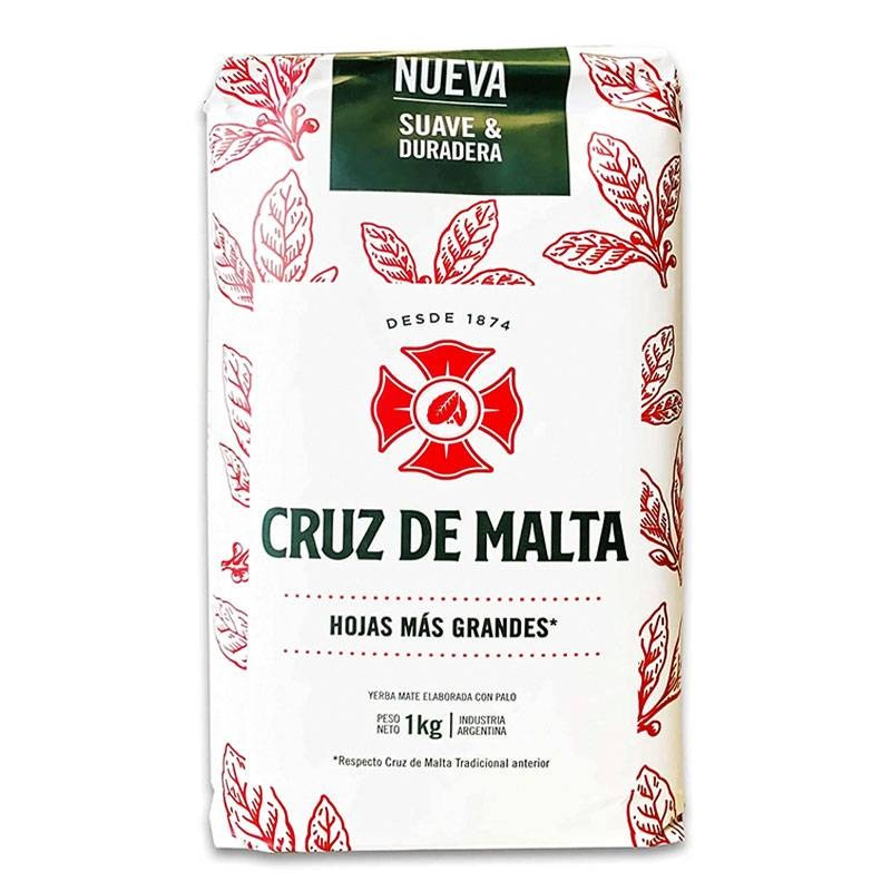 Cruz De Malta Mate Tea 1 kg