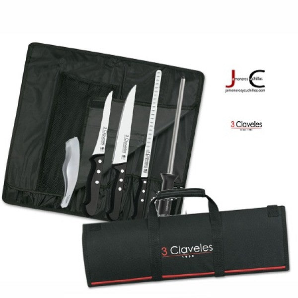 3 Claveles Knives And Accessories For Slicing Ham