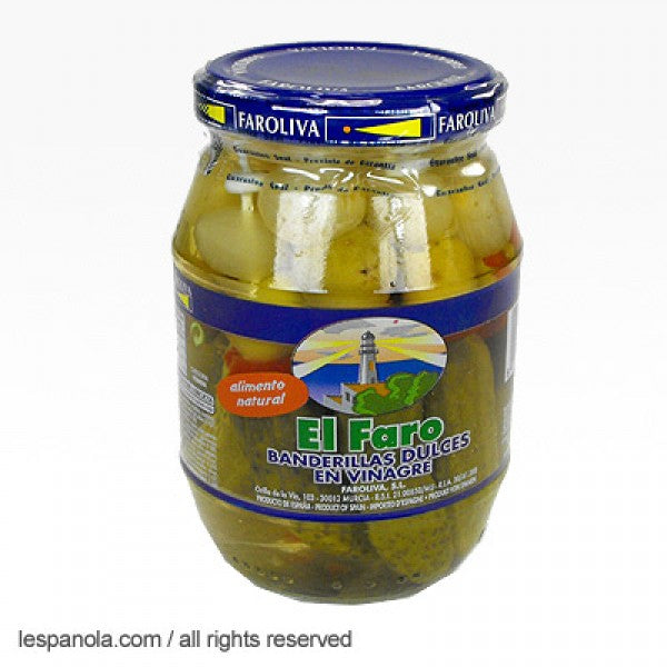 El Faro Mild Pickled Vegetables Skewers (Banderillas) 370 g