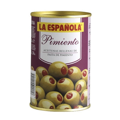 La Española Red Pepper Paste Stuffed Olives 130 g