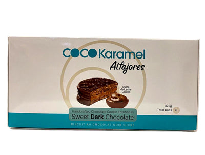 Coco Karamel Gourmet Filled Chocolate Alfajor - 6 units