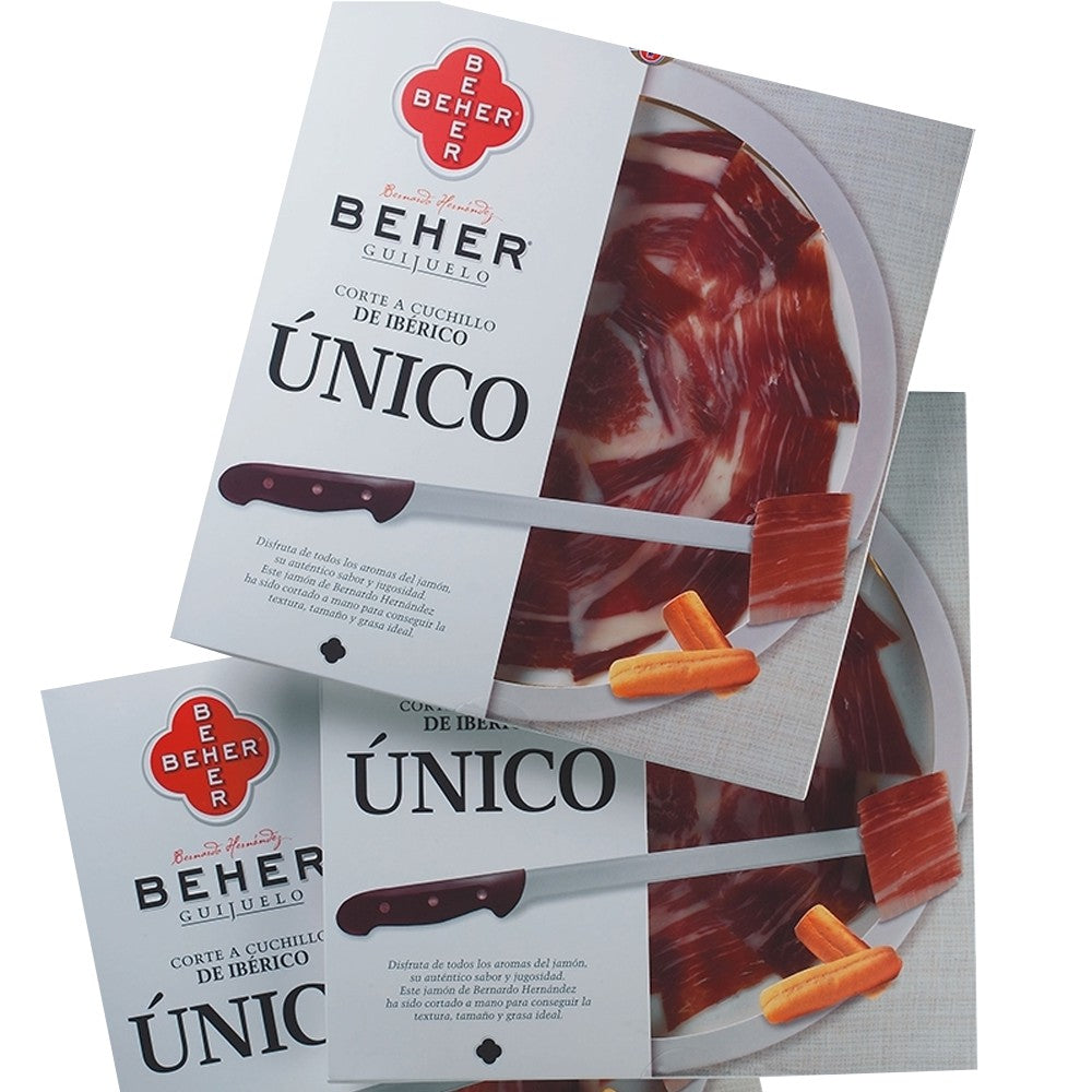 BEHER SLICED IBERIAN HAM 50 G