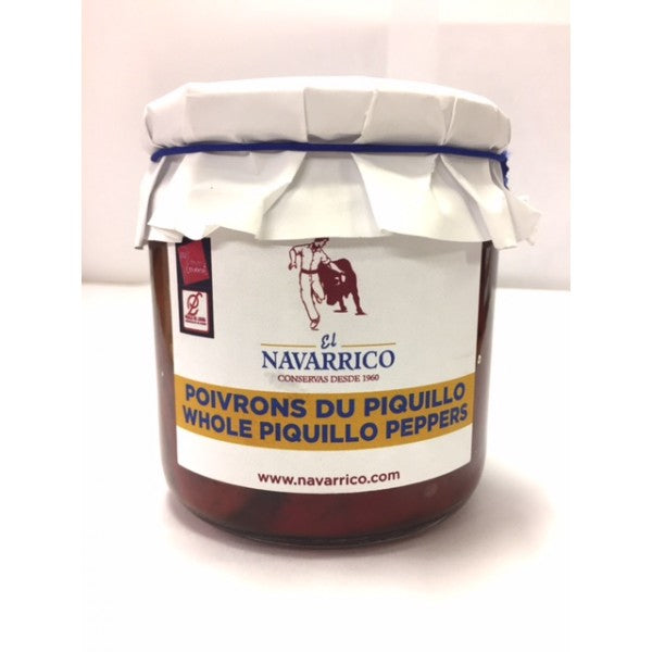 El Navarrico Whole Piquillo Peppers 300 g