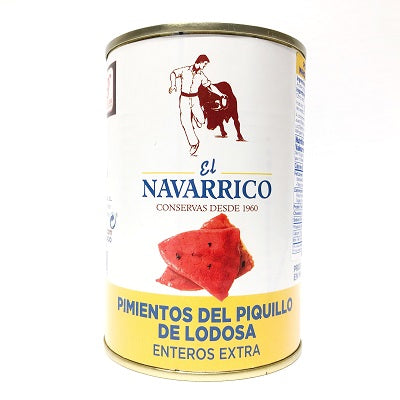 El Navarrico Whole Lodosa Piquillo Peppers 390 g