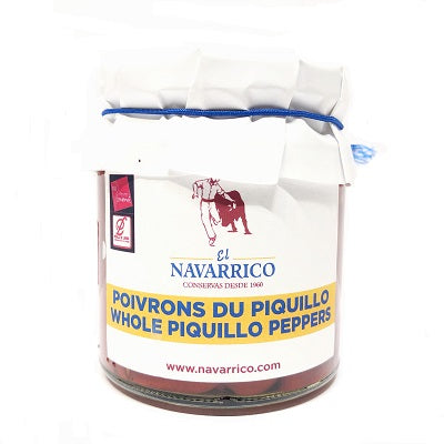 El Navarrico Whole Piquillo Peppers 220 g