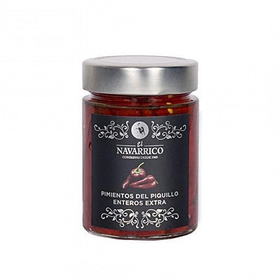 El Navarrico whole Piquillo Peppers 310 g
