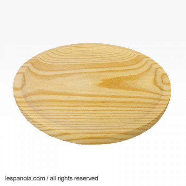 Traditional Spanish Wood Tapas Plate (Various Sizes)