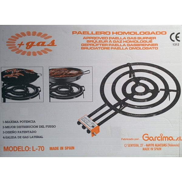 Garcima Paellero Propane Gas Burner For Paella (Various Sizes)