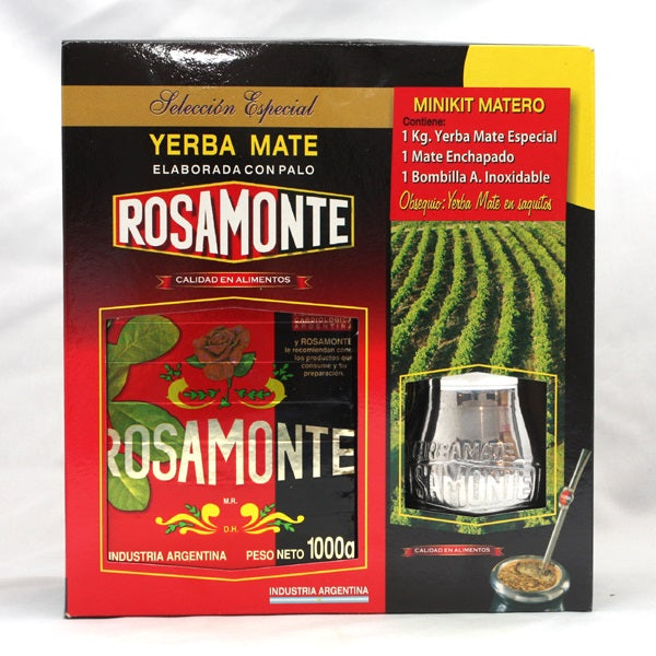 Rosamonte Mate Tea Gift Pack 1 kg