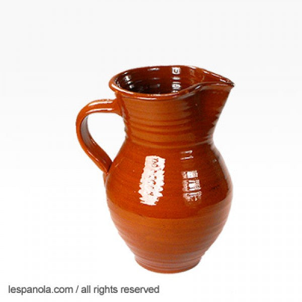 Terracotta Sangria Or Wine Pitcher (Various Sizes)