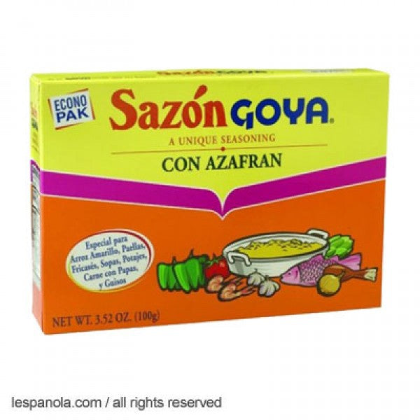 Goya Seasoning With Saffron 100 g