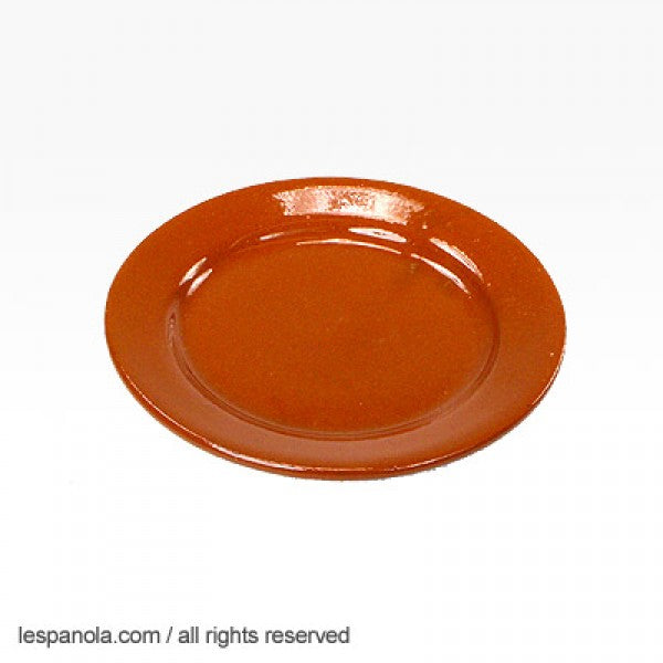 Terracotta Small Bread Plate 18 cm
