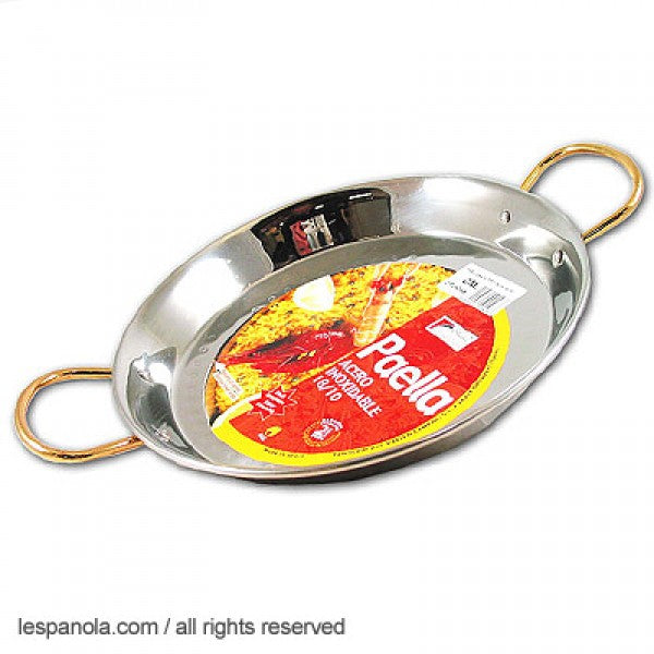 Stainless Steel Paella Pan (Various Sizes)