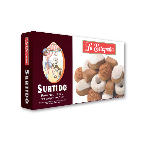 La Estepeña Assortment Of Cookies 300 g