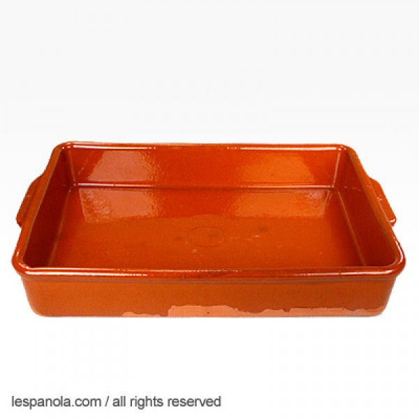 Terracotta Rectangular Casserole Dish (Various Sizes)