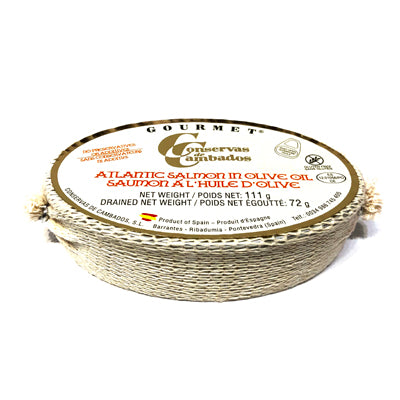Conservas De Cambados Atlantic Salmon In Olive Oil 111 g