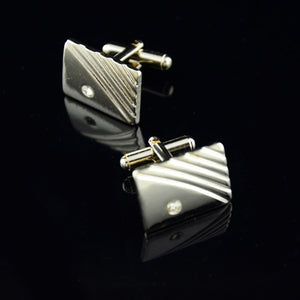 Diamond Stripes Cufflinks