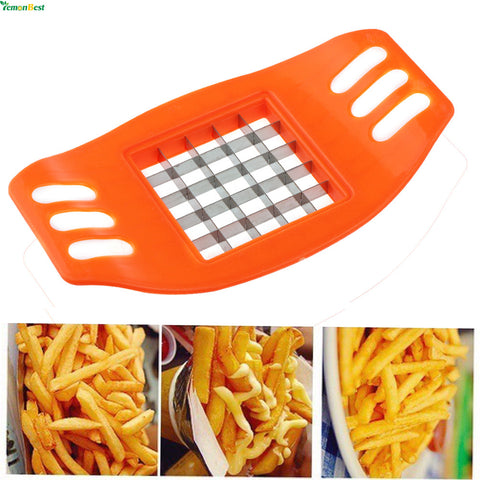 Stainless Steel French Fry Cutter Great Kitchen Tools Potato Cutter  Manual Potato Cutter Kitchen Tools Vegetable Fruit Slicer