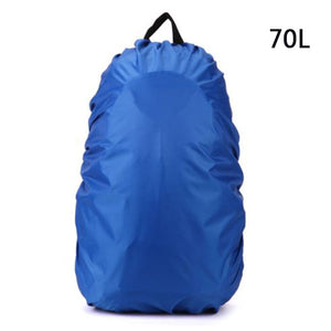 TEXU 70L New Waterproof Travel Accessory Backpack Dust Rain Cover