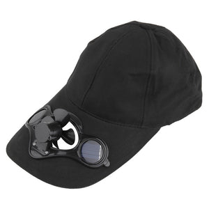 Summer outdoor hat with Solar Powered Fan - Great for Parks, recreation, cycling.