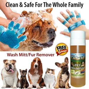Amazing Cedar Anti-Itch All Natural Safe Pet Shampoo & Conditioner for Dogs & Cats