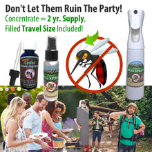Load image into Gallery viewer, Amazing Cedar All Natural Mosquito Bug Spray Kit For Kids, Pets, Whole Family-Refill Concentrate