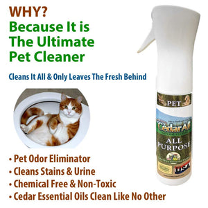 Complete Pet Care Shampoo & Cleaning Kit