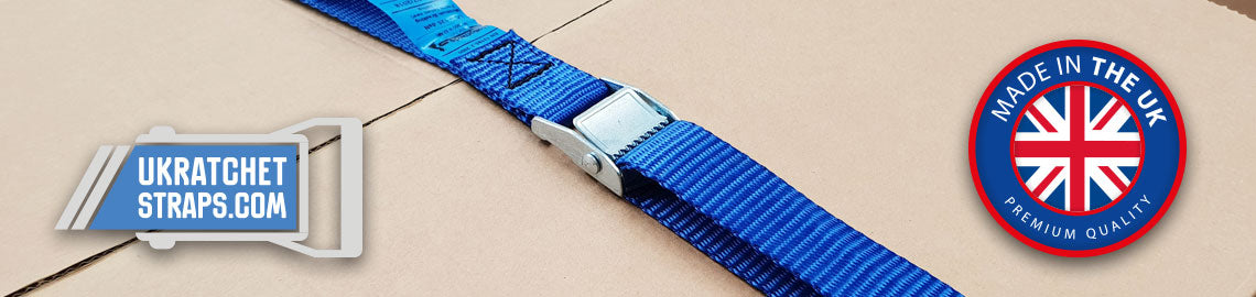 Cam Buckle Straps - Light Duty 250kg
