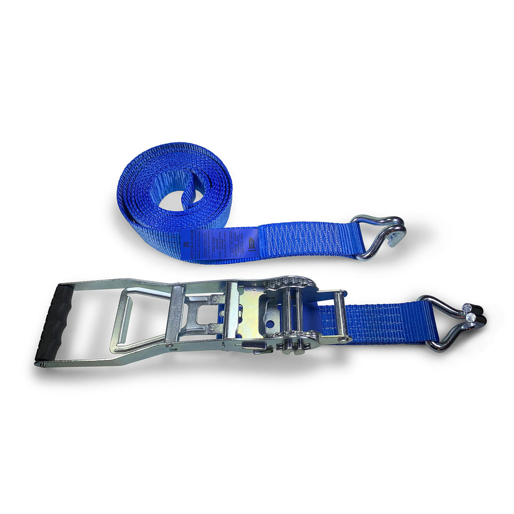 50mm 5000kg ERGO Ratchet Strap Claw Hooks - 8 METRE
