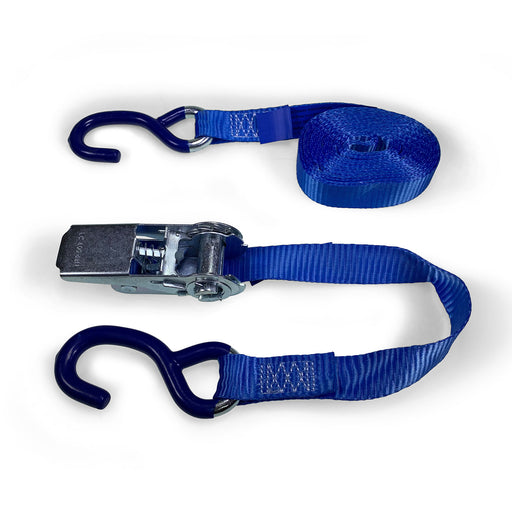 25mm Wide, 800kg 5m Max Length Ratchet Straps - 'S' Hook Ends