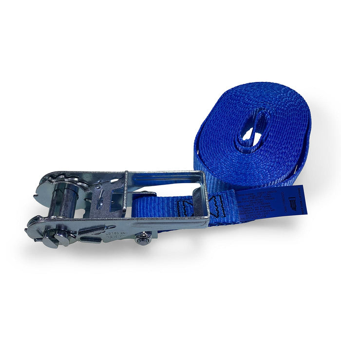25mm Wide, 1500kg 5m Max Length Ratchet Straps - Endless
