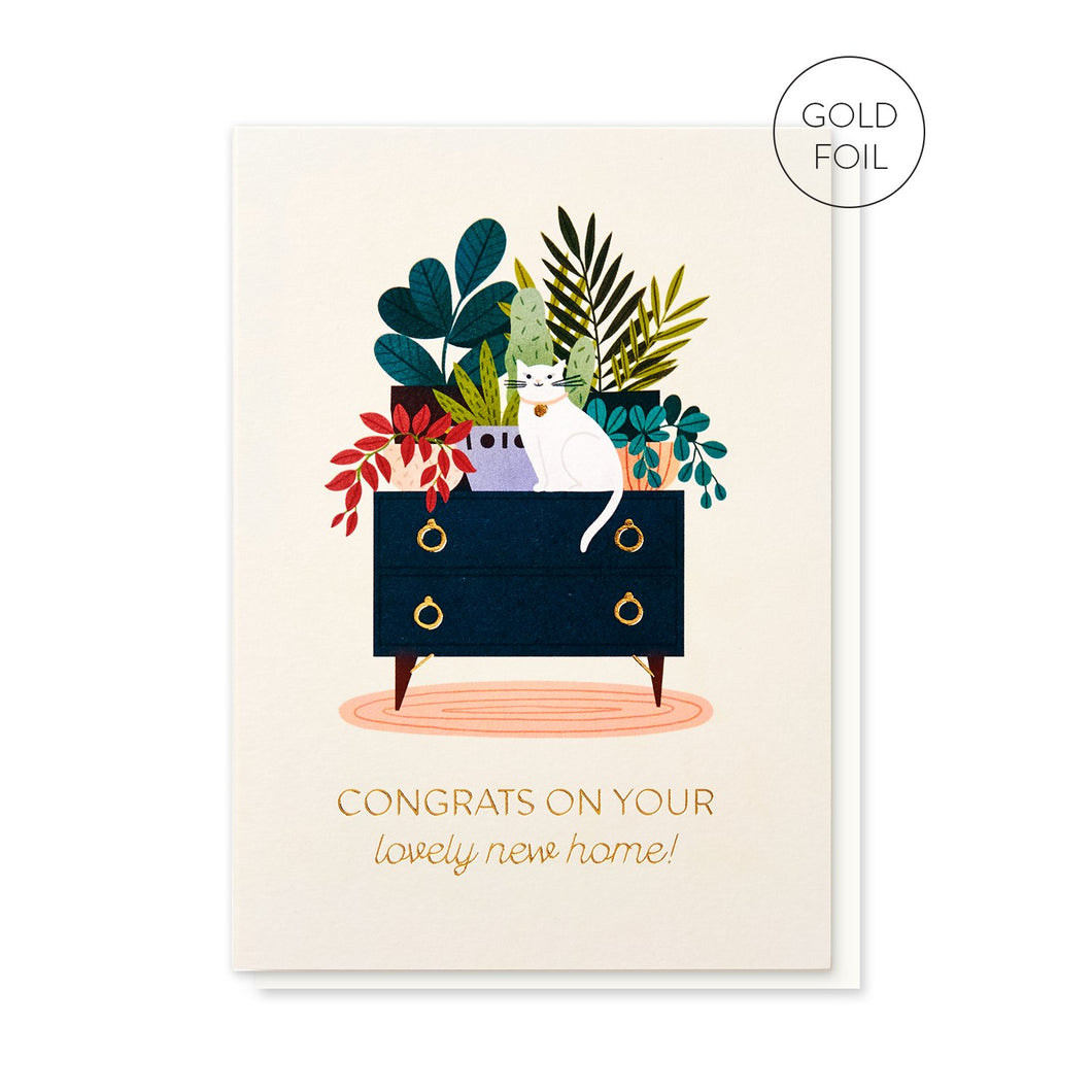 Lovely New Home card