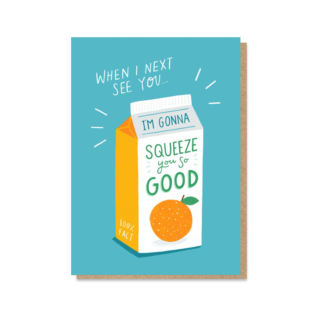Big Squeeze card
