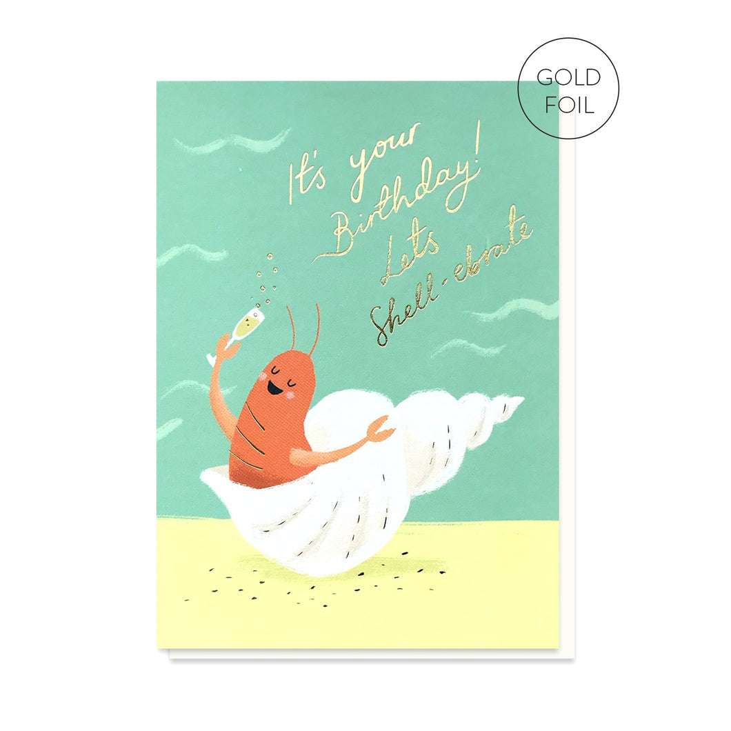 Let's Shell-ebrate card