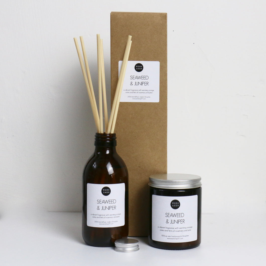 Seaweed & Juniper Gift Set