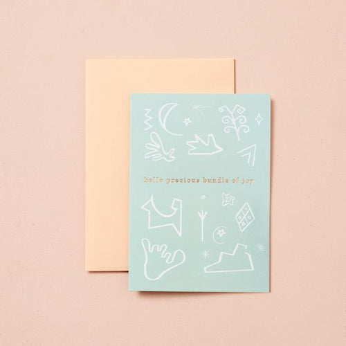 Precious Bundle of Joy card