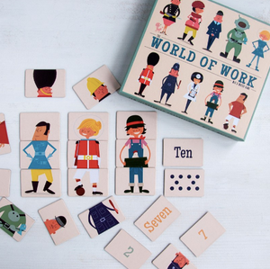 World of Work Mix & Match Game