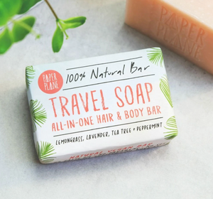 Natural Vegan Travel Soap Bar
